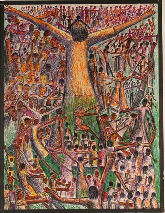 983: Leon Kennedy. Multi-Figure Healings.