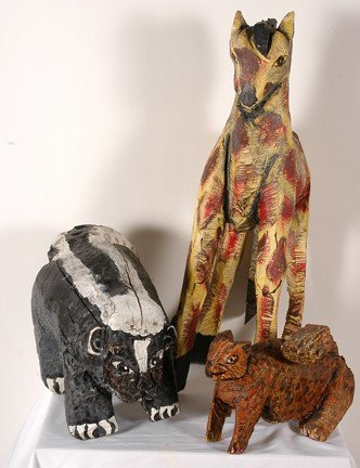 985: John Abduljaami. Three Animals.