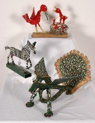 992: Willie Tarver. Three Sculptures.