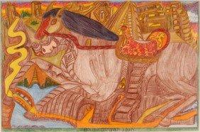 Braulio Diaz. The Horse.