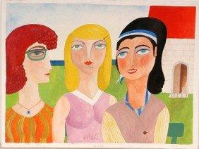 Mali. Three Ladies.