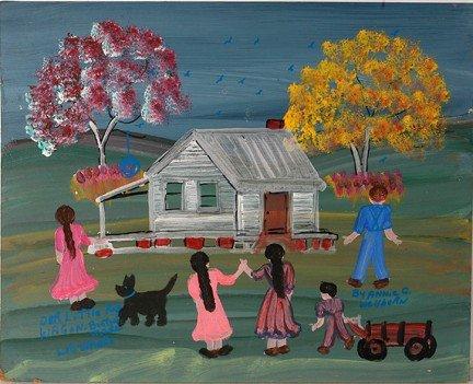 1045: Annie Wellborn. Our Little Red Wagon.