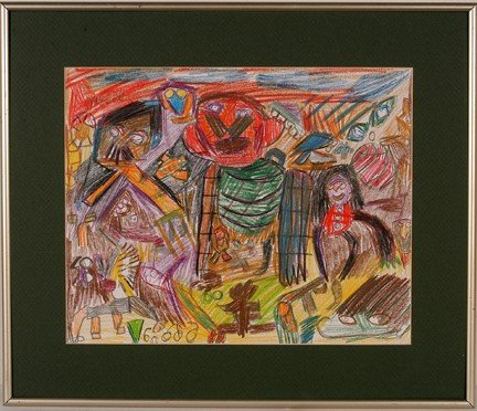 1075: Leofric Baron. Figure in Red.