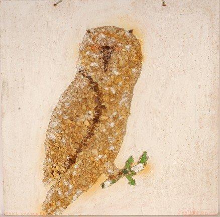 1077: Baltimore Glassman. Owl.
