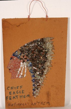 1078: Baltimore Glassman. Chief Eagle Feather.