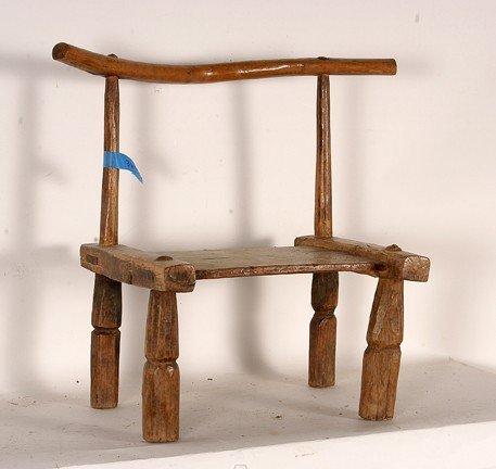 1325: African Circumcision Chair.