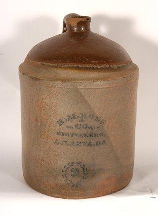 R.M. Rose Distillers. Two-Gallon Jug.