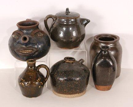 Anonymous Potters. Six Pots.