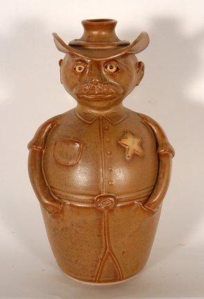 Jr. Cooper.  High Sheriff Figurative Jug.