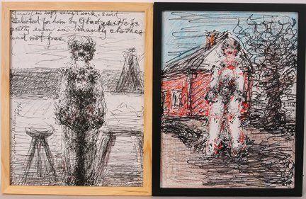Malcolm McKesson. Pair of Drawings.