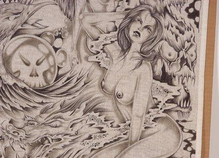 TX Chicano Prison Art Panos. - 4