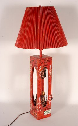 847: Ronald Cooper. A Shade Of Hell Lamp.