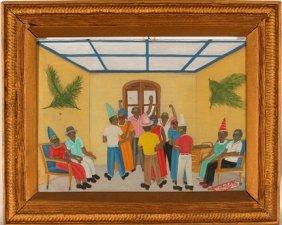 Michael Obin. Haitian Party.