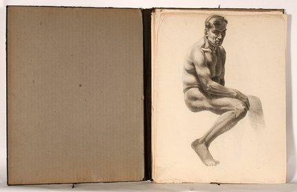 919: Audrey Schini. Portfolio of 14 Nudes.