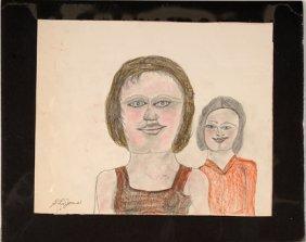 S.L. Jones. Two Girls.