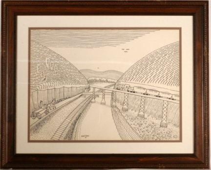 947: Jack Savitsky. LeHigh Coal Trail.