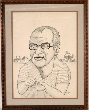 949: Jack Savitsky. Coal Miner Jack Savitsky.