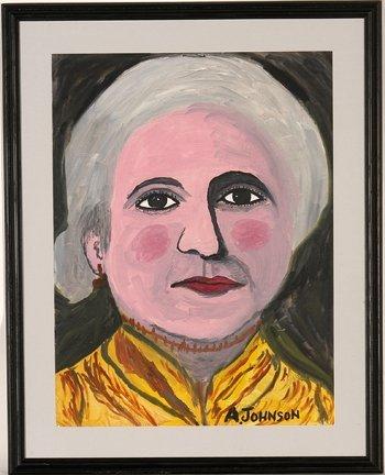 954: Anderson Johnson. American Portrait.