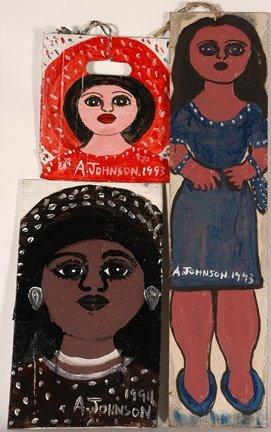 958: Anderson Johnson. Three Women.