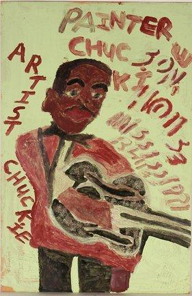 961: Artist Chuckie Williams. Son House.