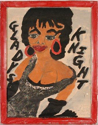 963: Artist Chuckie Williams. Gladys Night.