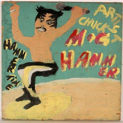 964: Artist Chuckie Williams. M.C. Hammer.