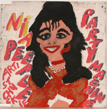 966: Artist Chuckie Williams. Elvis & Nia Peeple.