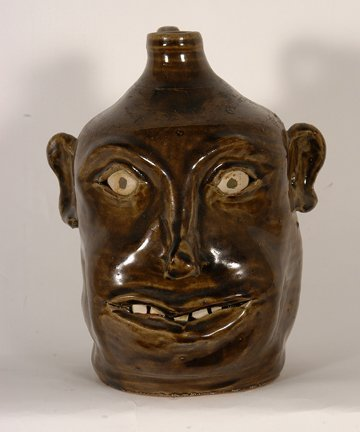 18: David Meaders. 100 Years Meaders Pottery Face.