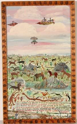 243: Howard Finster. Peace In Valley, #1,258.