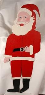 246: Howard Finster. Life-Size Santa, #1,254.