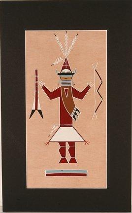 842: Hathale Family. Warrior.