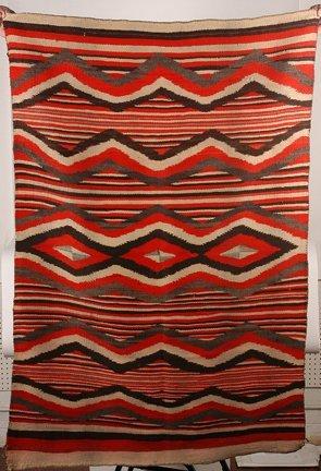 844: Navajo. Native American Blanket.