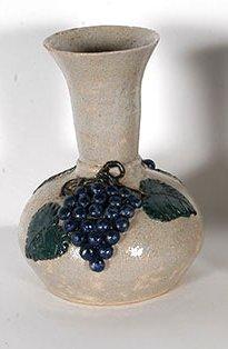 Arie & Cheever Meaders. Grape Vase, #1.