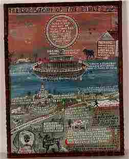 Howard Finster. The Dog Story Of The Bible.