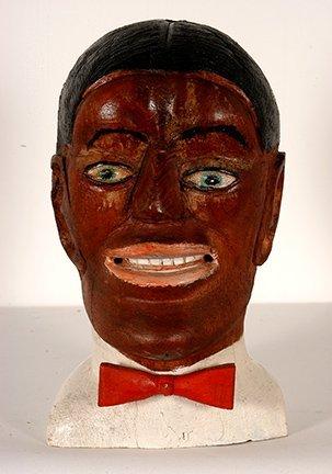 S.L. Jones. Bust Of  Black Man.