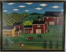 Phyllis Duffy. Farm Scene.