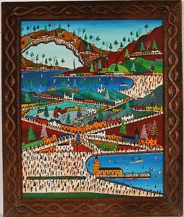 Prefete Duffaut. Cityscape w Water Ports.