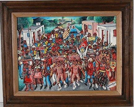 Wilson Bigaud. Carnival.