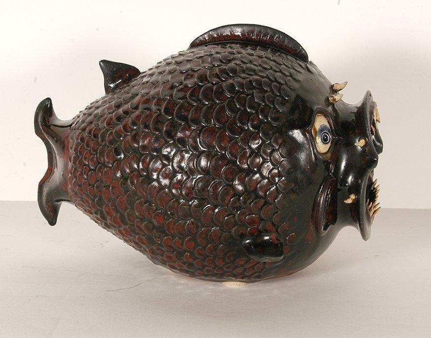 Roger Corn.  #9 Horny Head Fish. - 3