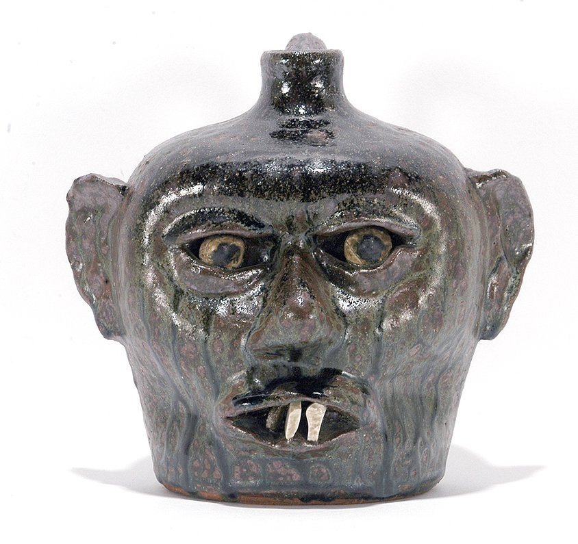 Lanier Meaders. Smithsonian Face Jug.
