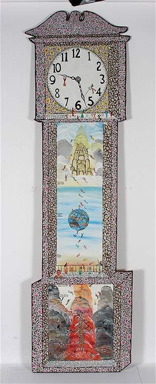 Howard Finster. Time Waits for Nothing.