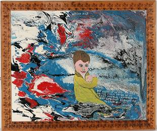 Howard Finster. My Baby Pic, #1,257.