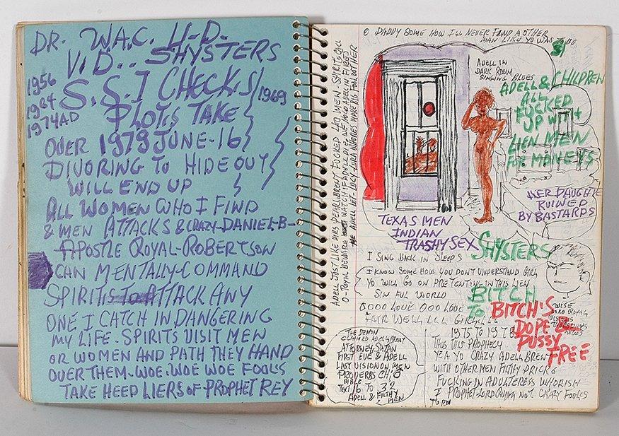 Prophet Royal. Robertson. Notebook.
