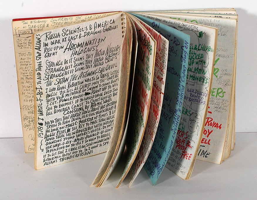 Prophet Royal. Robertson. Notebook. - 2