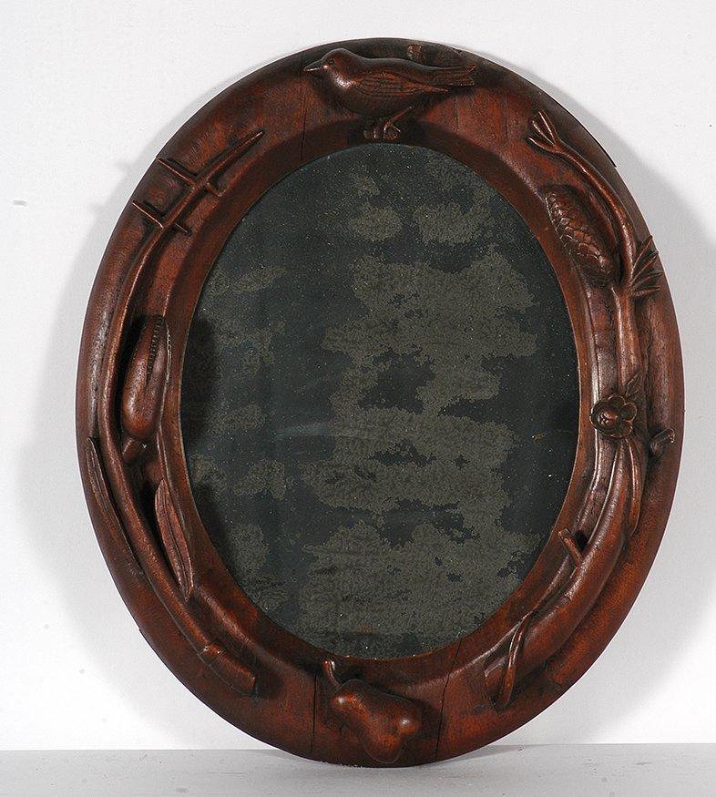 Great American Woodsman. Frame & Mirror.
