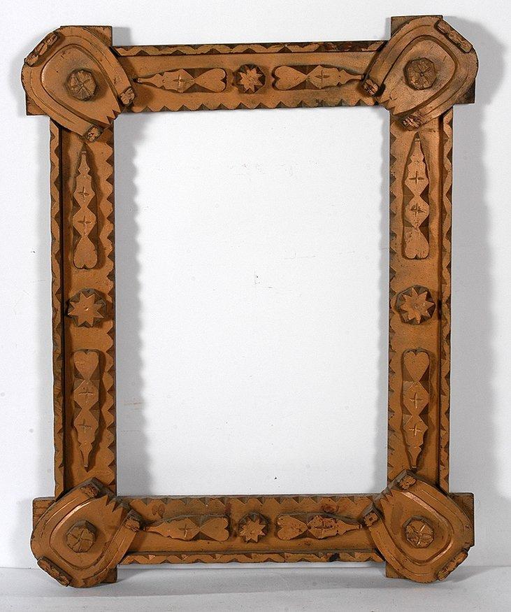 Lucky Tramp Art Frame