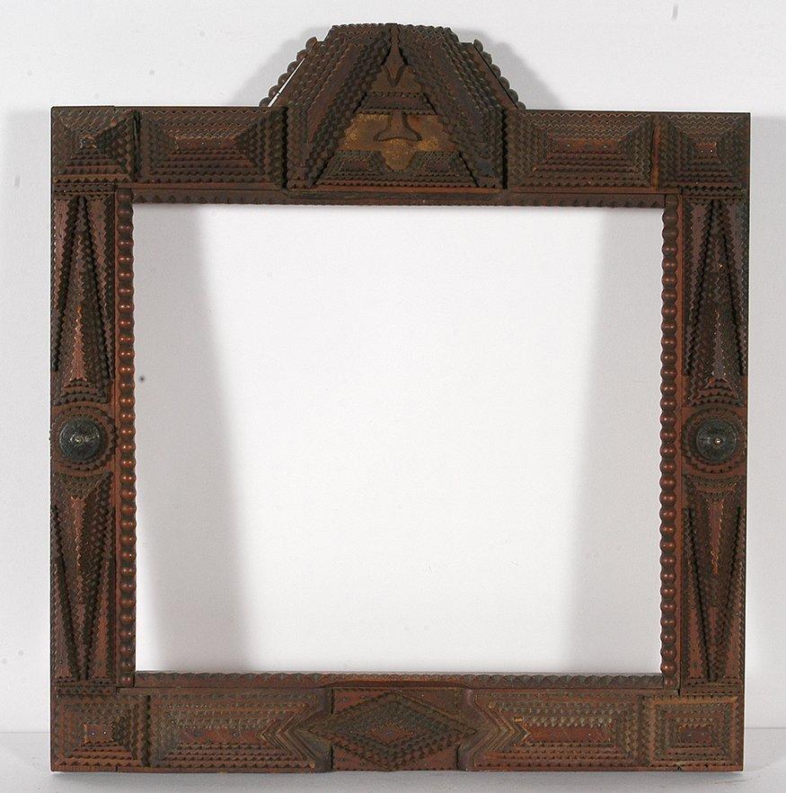 Tramp Art Multi-Design & Shape Frame.