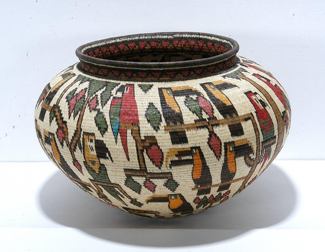 Darien Rainforest. Toucan Basket.