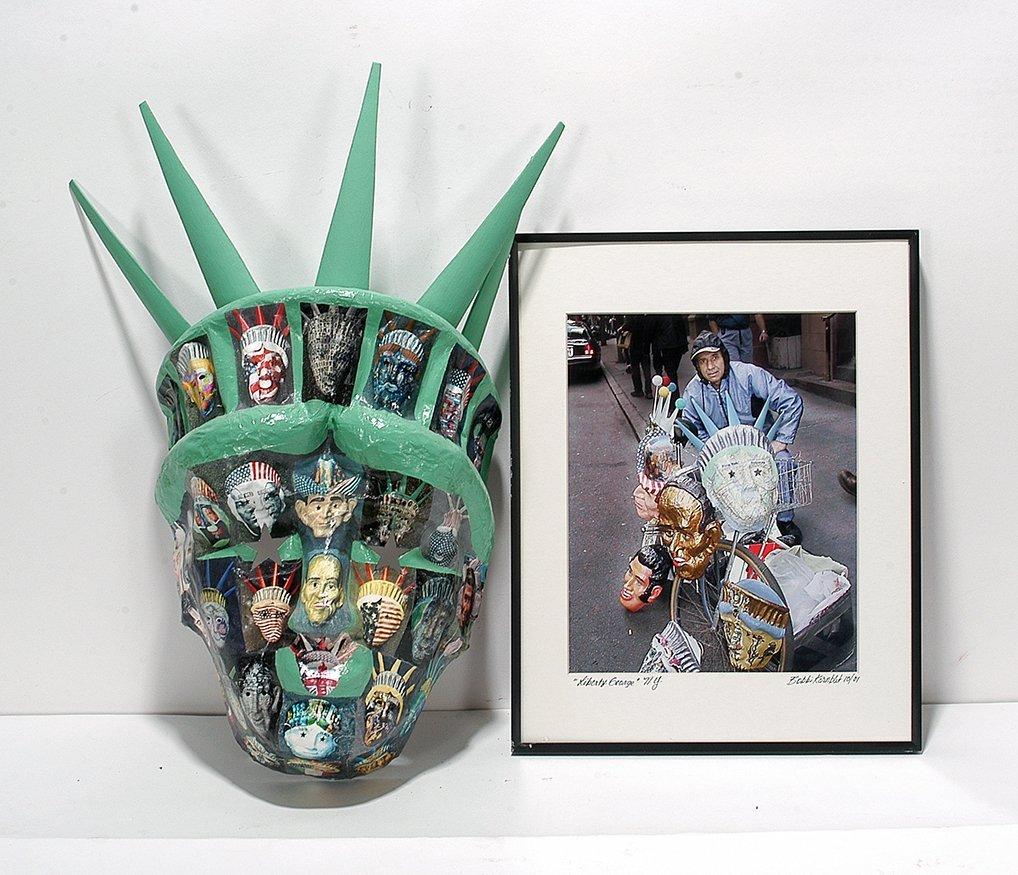 Liberty George Dukov. Liberty Mask & Photo.