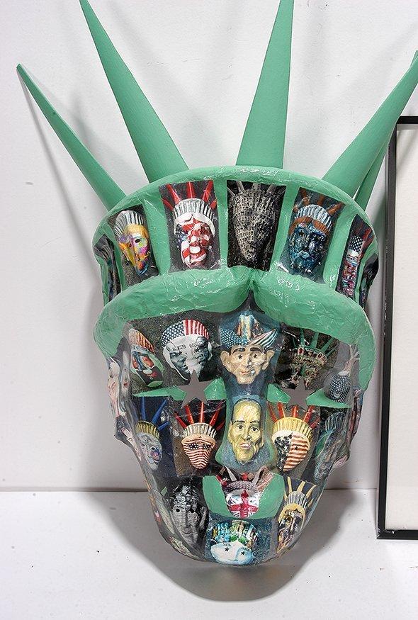 Liberty George Dukov. Liberty Mask & Photo. - 2